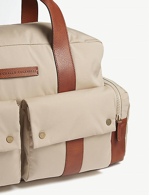 BRUNELLO CUCINELLI Nylon weekend bag