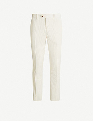 BRUNELLO CUCINELLI Straight-leg corduroy trousers