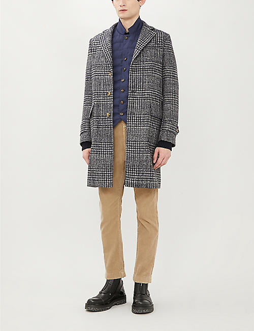 BRUNELLO CUCINELLI Funnel-neck quilted shell-down gilet