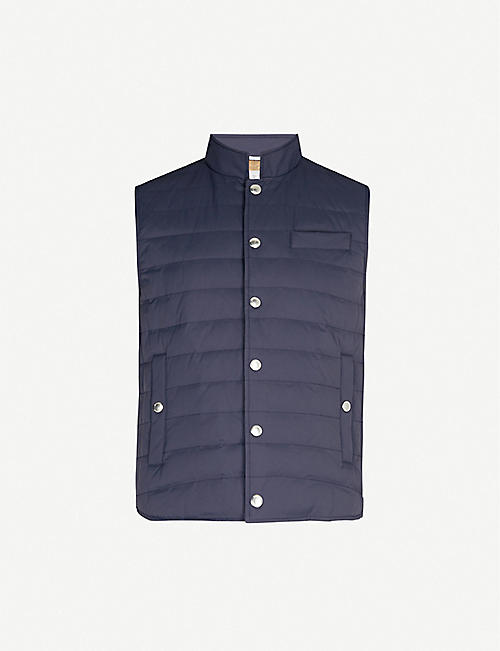 BRUNELLO CUCINELLI Quilted nylon gilet