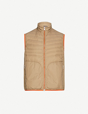 BRUNELLO CUCINELLI Quilted shell-down gilet
