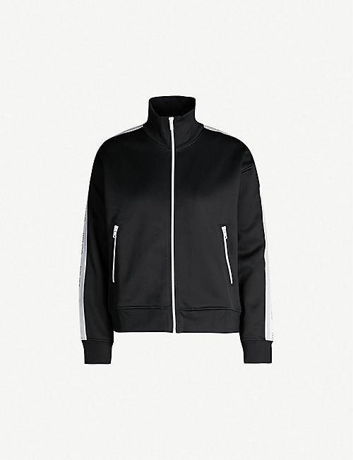 f120f061e KENZO Zipped high-neck woven jacket