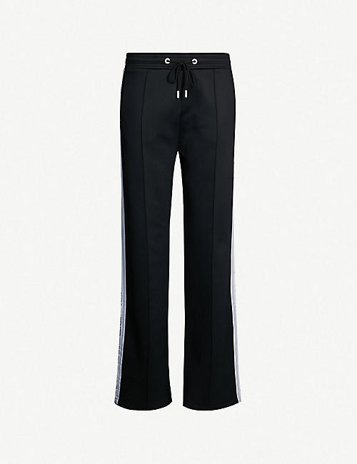 23521f4058520 KENZO Relaxed-fit logo-trim jersey jogging bottoms