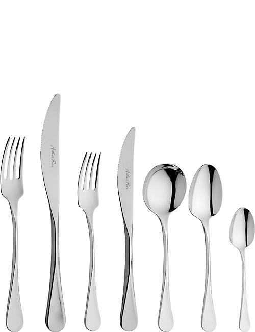 ARTHUR PRICE: Cascade stainless steel 7-piece place setting