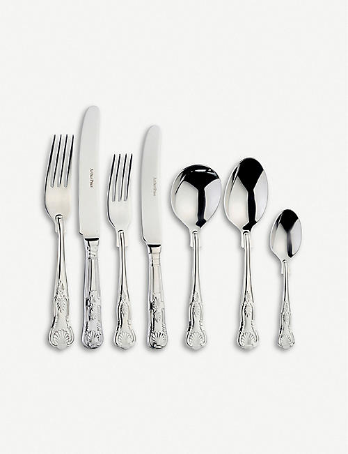 ARTHUR PRICE Kings stainless steel 58 piece cutlery set