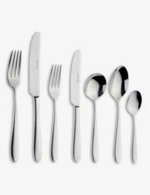 ARTHUR PRICE Willow stainless steel cutlery 58-piece set