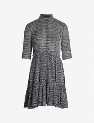 CLAUDIE PIERLOT Randall fil-coupé woven dress