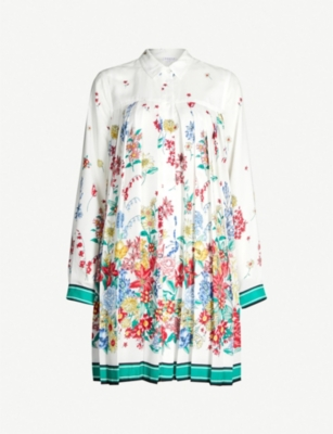 CLAUDIE PIERLOT Ramses floral-print crepe dress