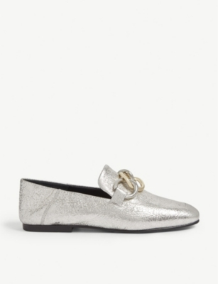 CLAUDIE PIERLOT Leather loafers