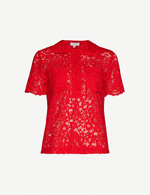 CLAUDIE PIERLOT Short-sleeved lace top
