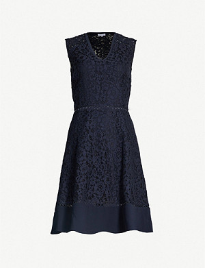 CLAUDIE PIERLOT Rikki cutout embroidered-lace dress