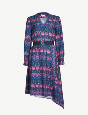 CLAUDIE PIERLOT Rajah floral-print crepe dress