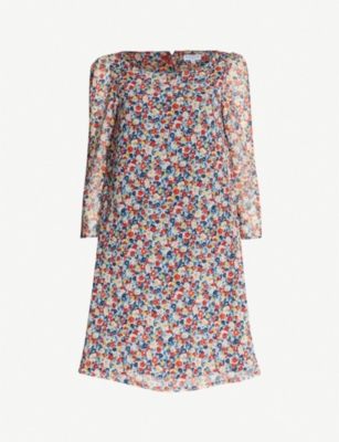 CLAUDIE PIERLOT Rififi Liberty floral-print crepe dress