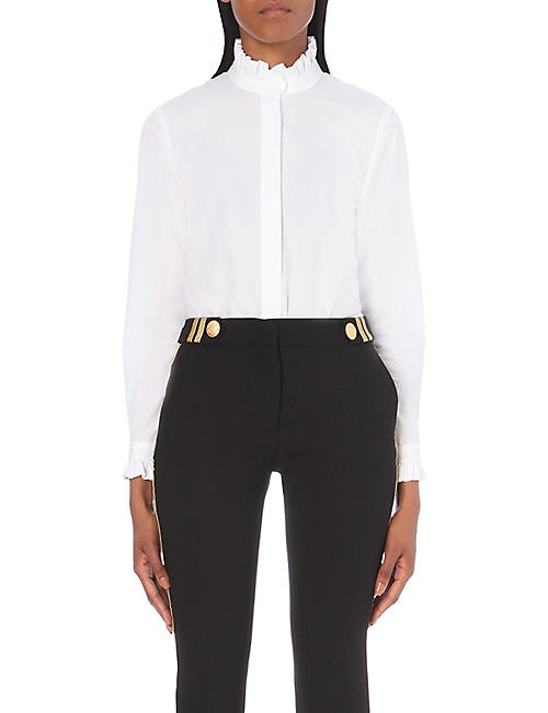 CLAUDIE PIERLOT Colombine cotton shirt