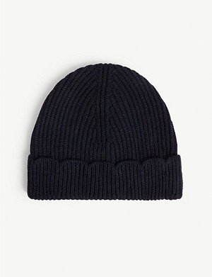 CLAUDIE PIERLOT Matin scalloped hem beanie hat