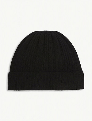 CLAUDIE PIERLOT Ribbed wool-blend beanie