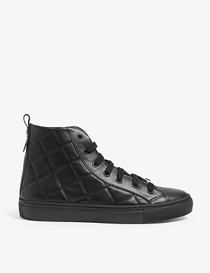 CLAUDIE PIERLOT Ariah leather trainers