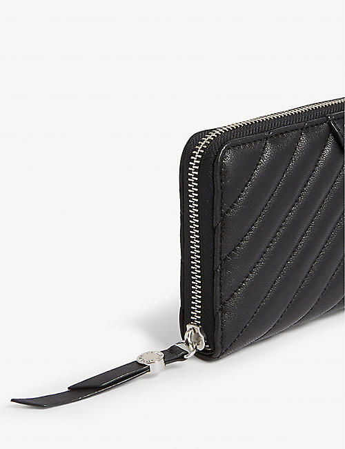 CLAUDIE PIERLOT Angie quilted leather wallet