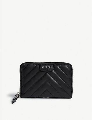 CLAUDIE PIERLOT: Answer quilted leather purse