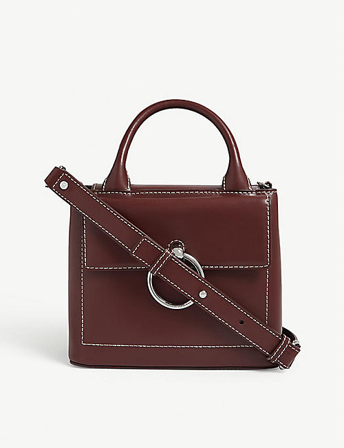 CLAUDIE PIERLOT Anouck small leather shoulder bag