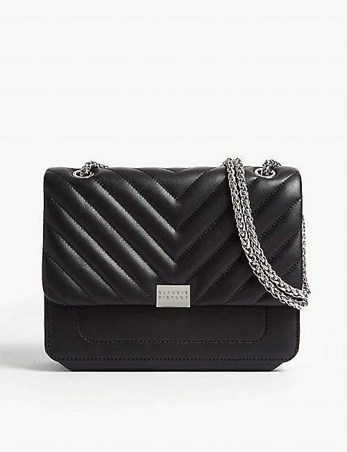 CLAUDIE PIERLOT Angela leather shoulder bag