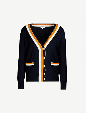 CLAUDIE PIERLOT Macedo buttoned wool cardigan