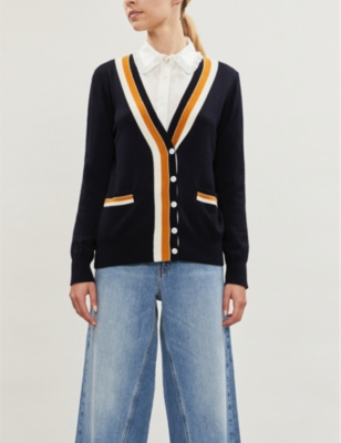 Macedo Buttoned Wool Cardigan by Claudie Pierlot