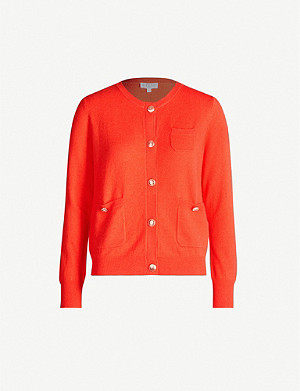 CLAUDIE PIERLOT Milly buttoned wool-blend cardigan