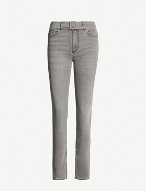 CLAUDIE PIERLOT Passion skinny high-rise jeans