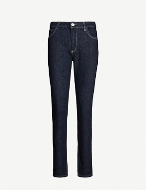 CLAUDIE PIERLOT Patole slim-fit stretch-denim jeans