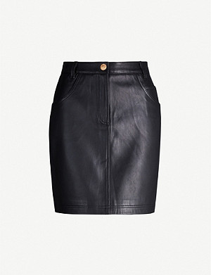 CLAUDIE PIERLOT Cleyah leather skirt