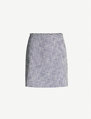 CLAUDIE PIERLOT Cotton-blend mini skirt