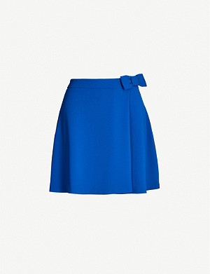 CLAUDIE PIERLOT Spleeny crepe mini skirt