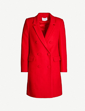 CLAUDIE PIERLOT Double-breasted woven coat
