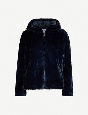 CLAUDIE PIERLOT Felicie faux-fur jacket