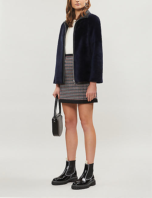 CLAUDIE PIERLOT Frenchh shearling jacket