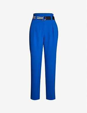 CLAUDIE PIERLOT Paper bag woven trousers
