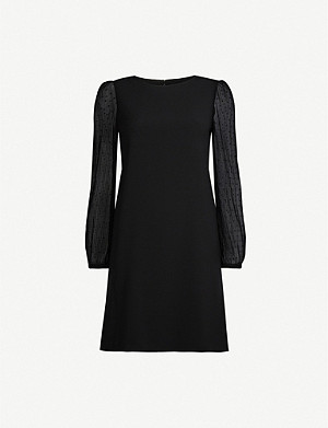 CLAUDIE PIERLOT Reverence woven mini dress