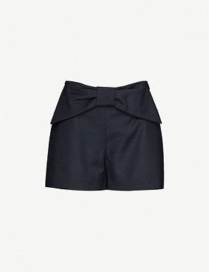 CLAUDIE PIERLOT Edmond high-rise woven shorts