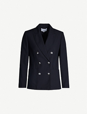 CLAUDIE PIERLOT Double-breasted wool-blend blazer