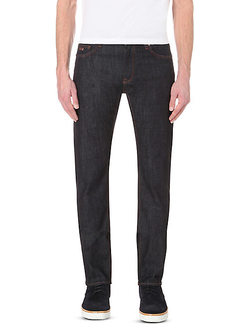 BOSS Leisure slim-fit tapered denim jeans