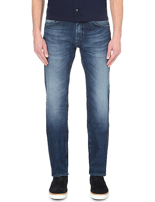 312a3738a3 BOSS Leisure regular-fit mid-rise jeans