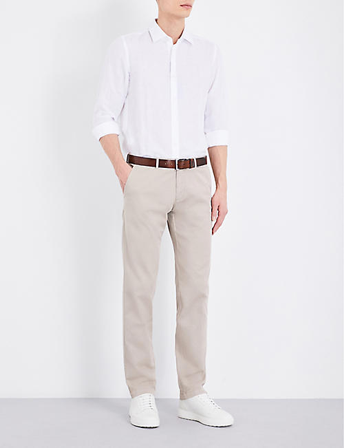 BOSS Slim-fit tapered chinos