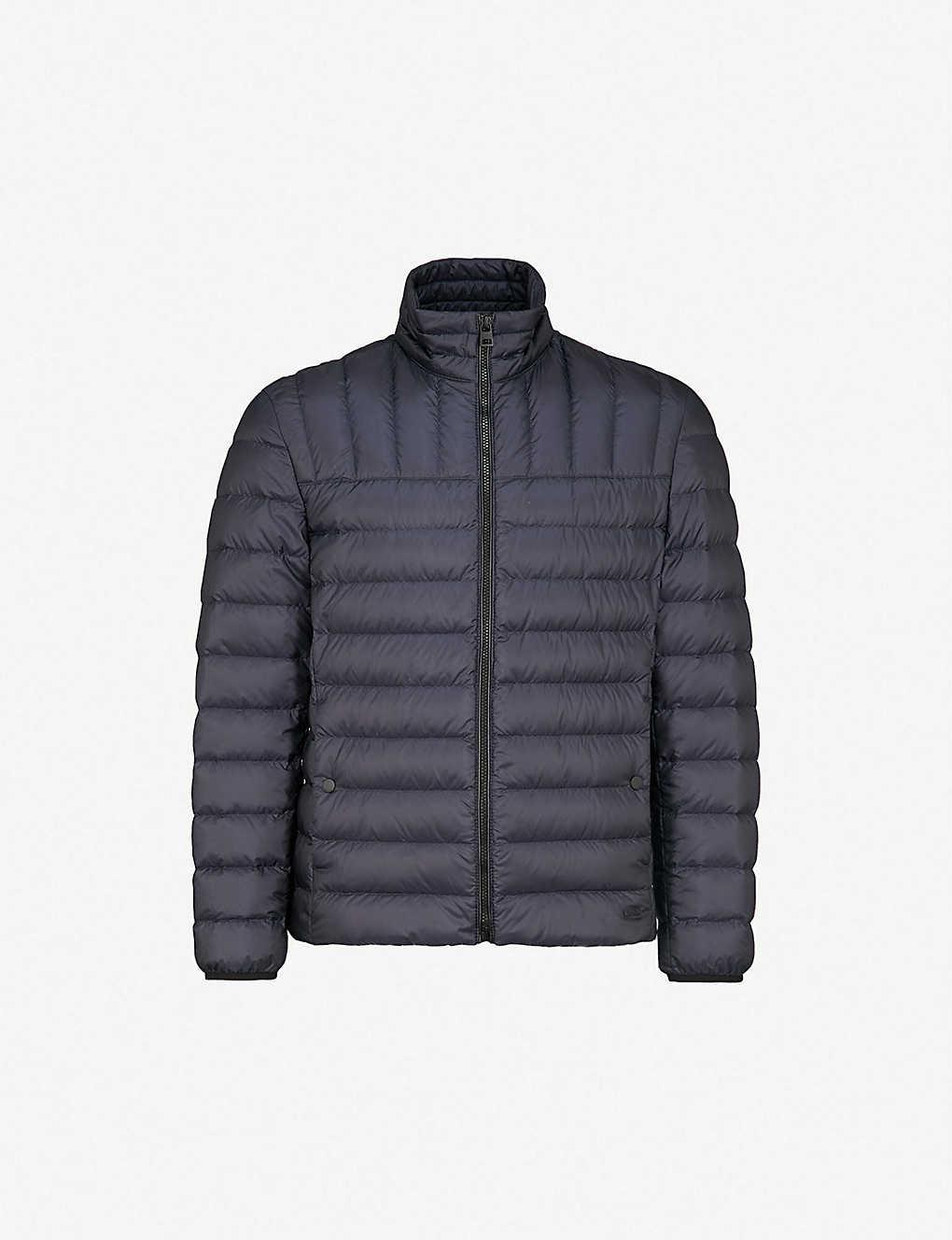 734bfae7c HUGO - Padded shell-down jacket   Selfridges.com