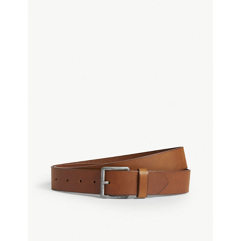 HUGO BOSS | Casual Leather Belt | Goxip