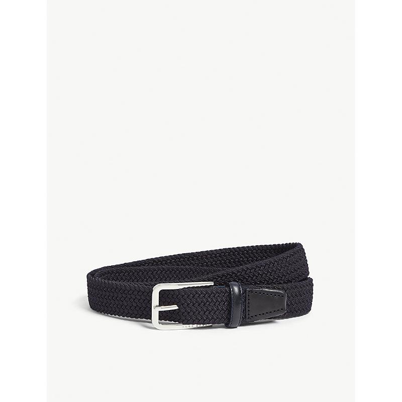 HUGO BOSS | Woven Elasticated Belt | Goxip