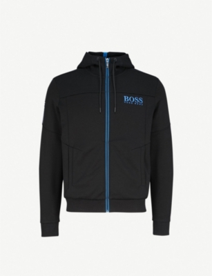 BOSS Embroidery-detail jersey hoody