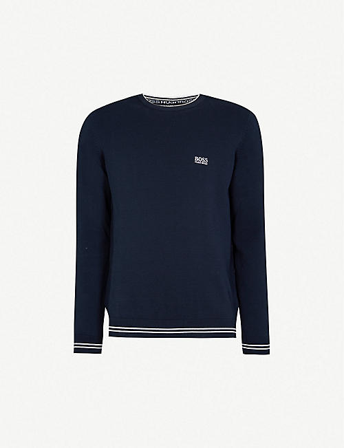 dd8e8917 BOSS - Sweatshirts - Tops & t-shirts - Clothing - Mens - Selfridges ...