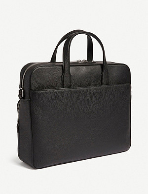 BOSS Leather single document case