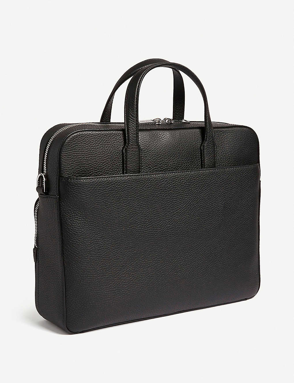 BOSS: Leather single document case